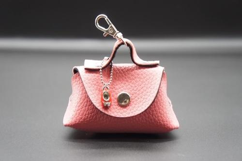 赤い靴ミニバッグ ピンク