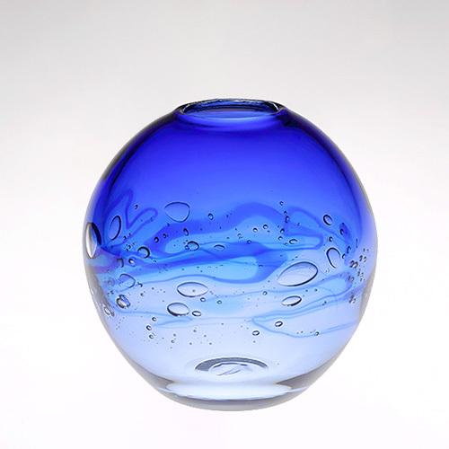 YCボール花器 S ブルー